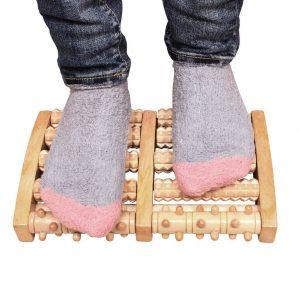 Masajeador para los pies Edealing de madera