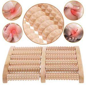 Masajeador de madera BESTZY BU2104 para los pies
