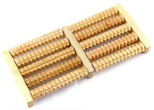 Masajeador de madera TrifyCor para los pies