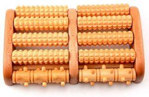 Masajeador de pies Hangrui 03101 de madera